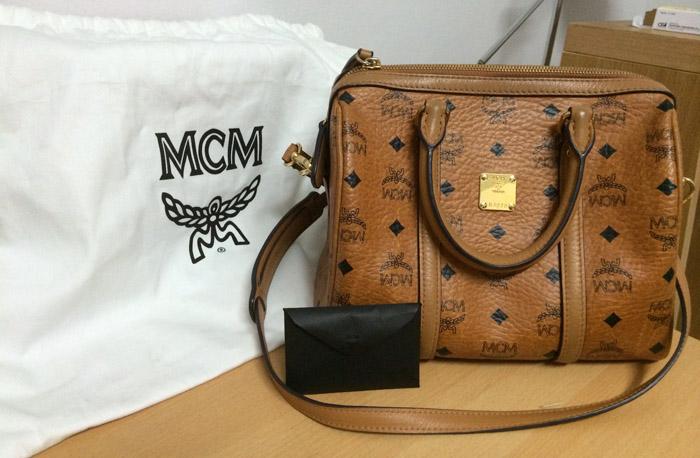 กระเป๋า mcm มือสอง